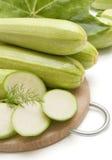 Slice fresh marrow Stock Photo