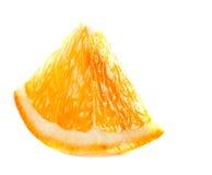 Slice of fresh orange stock images