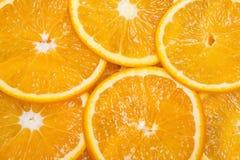 Slice of fresh orange Stock Photography