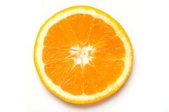 Slice of fresh orange isolated Royalty Free Stock Image
