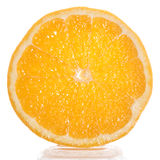 Slice of fresh orange Royalty Free Stock Photo