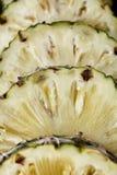 Slice of fresh pineapple Stock Photo