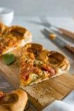 Slice of fresh Pizza  Stock Photography