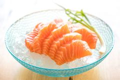 Slice Fresh Raw Salmon Red Fish Steak on  on a Backgroun. Slice Fresh Raw Salmon Red Fish Steak on  on a white Background Stock Photo