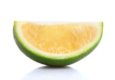 Slice of Fresh ripe lime Stock Photography