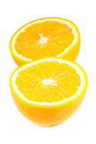 Slice of fresh ripe orange. Stock Photography
