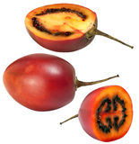 Slice fresh tamarillo Royalty Free Stock Images