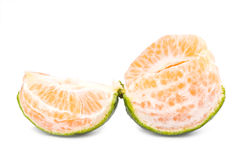 Slice of fresh tangerine Royalty Free Stock Images