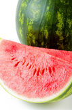 Slice of fresh watermelon Royalty Free Stock Photos