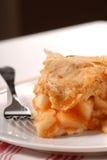 Slice of freshly made apple pie Stock Image