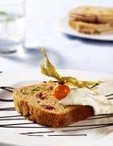 Slice of fruitcake Royalty Free Stock Photo