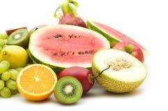 Slice fruits stock photos