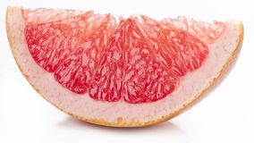 Slice of grapefruit. Royalty Free Stock Photos