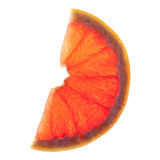 Slice of grapefruit Stock Photo