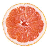 Slice of grapefruit stock images