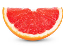 Slice of grapefruit Stock Photos