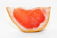 Slice of grapefruit Royalty Free Stock Images