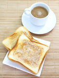 Slice of grilled bread Stock Photo