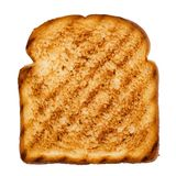 Slice of grilled bread royalty free stock photo