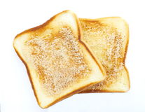 Slice of grilled bread Royalty Free Stock Photography