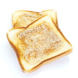 Slice of grilled bread Stock Images
