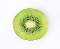 Slice half of juicy kiwi fruit Royalty Free Stock Images