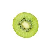 Slice half of juicy kiwi fruit Royalty Free Stock Image