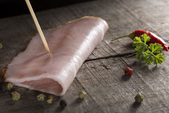 Slice of ham Royalty Free Stock Photo