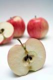 Slice of juicy apple Stock Photography