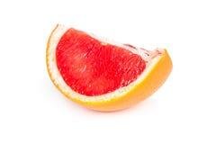 Slice of juicy grapefruit Stock Photos
