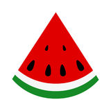 Slice of juicy summer watermelon Stock Photography