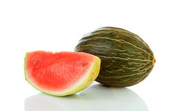 Slice of juicy water melon Royalty Free Stock Images