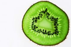 Slice of kiwi Royalty Free Stock Image