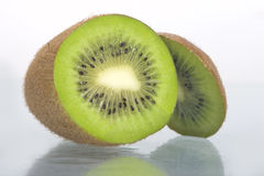Slice of kiwi fruit Stock Photography