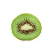 Slice kiwi fruits. Close-up. Stock Photos