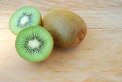 Slice kiwi Stock Photos
