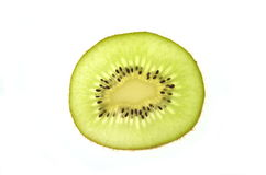 Slice of kiwi Stock Image