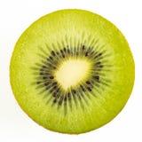 Slice of kiwi. On white background stock photo