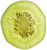 Slice of Kiwifruit Close-up Stock Image