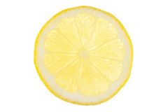 Slice of lemon Royalty Free Stock Image