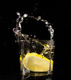 Slice of lemon Royalty Free Stock Photos