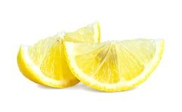Slice of lemon Royalty Free Stock Photography