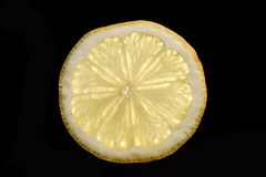 Slice of lemon Stock Photos