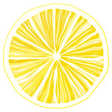 Slice of lemon Royalty Free Stock Images