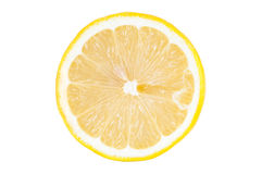Slice of lemon Stock Photos