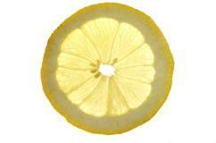 Slice of lemon Royalty Free Stock Photography