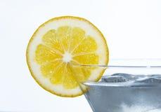 Slice of lemon Stock Photo