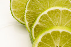 Slice lime Stock Images