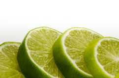 Slice lime Stock Image