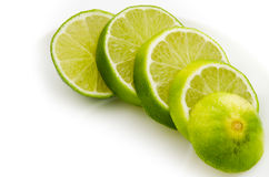 Slice lime Royalty Free Stock Photo